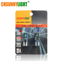 CNSUNNYLIGHT LED T10 Error Free 194 168 W5W W CREE Chips XPE Leds Universal For Car