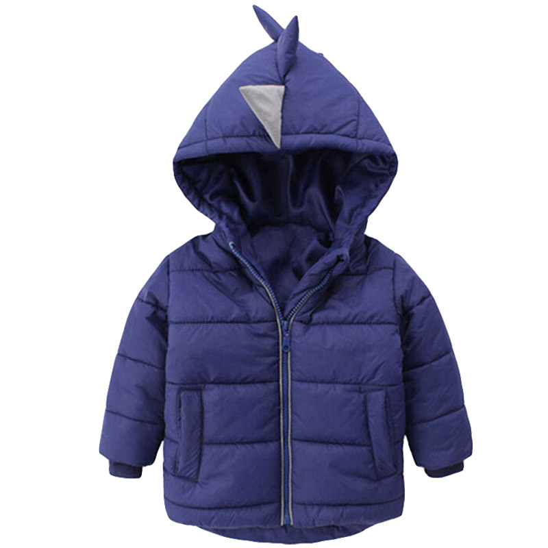 cf4c26047f6b2 Baby Boys Jacket 2018 Autumn Winter Jackets For Boys Dinosaur Coat Kids  Warm Outerwear Coats For Girls Jacket Children Clothes-in Jackets   Coats  from ...