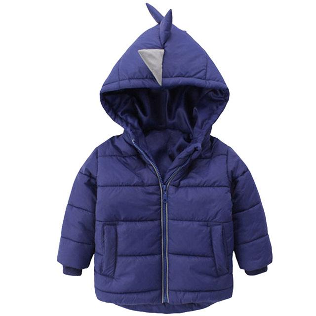 Baby Boys Jacket 2019 Autumn Winter Jackets For Boys Dinosaur Coat Kids Warm Outerwear Coats For Girls Jacket Children Clothes