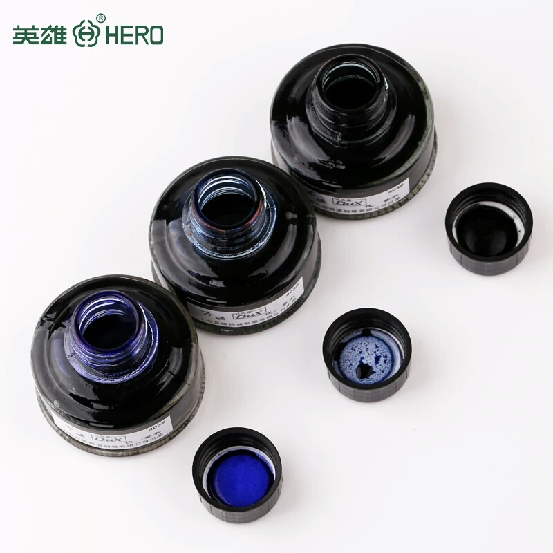 fountain pen ink black blue red ink pen refill 50ml glass bottled office supplies for fountain pen school chancery stationery