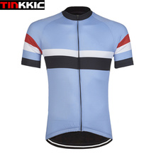 Tinkki Men's Pro Cycling Jersey Short Sleeve Jerseys Bicycle Road Mtb Bike Cycling Clothing Tops Maillot Ciclismo hombre #XT-065