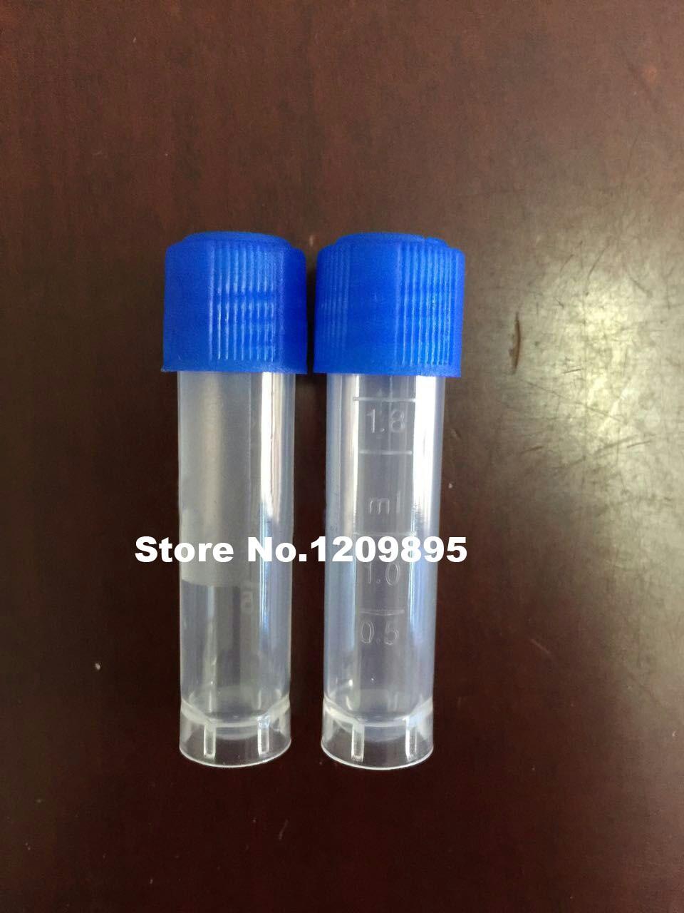 500pcs/lot New pattern 1.8ml 2ml Cryopreservation test tube Cryogenic Vials Laboratory cryovial plastic with Silica gel washer 500pcs/lot New pattern 1.8ml 2ml Cryopreservation test tube Cryogenic Vials Laboratory cryovial plastic with Silica gel washer