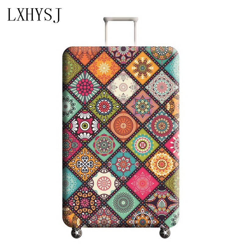 The New Elastic Luggage Cover Luggage Protective Covers Suitable For 18-32 Inch Suitcase Case Baggage Cover Travel Accessories