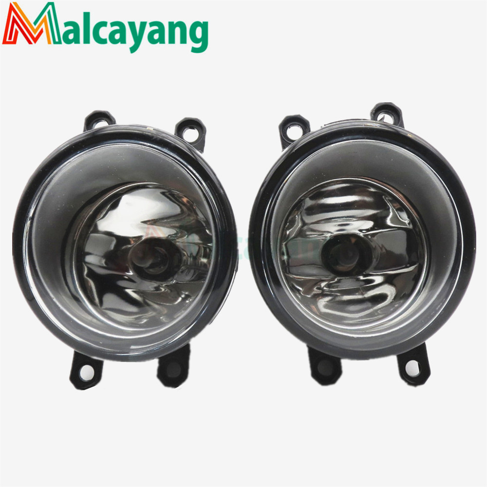 1 SET (Left + right) Car Styling Front Halogen Fog Lamps Fog Lights 81210-06052 For Toyota Corolla 2007 2008 2009 2010 2 pcs set car styling front bumper light fog lamps for toyota avensis 2003 2009 fog lights left right 81210 06052