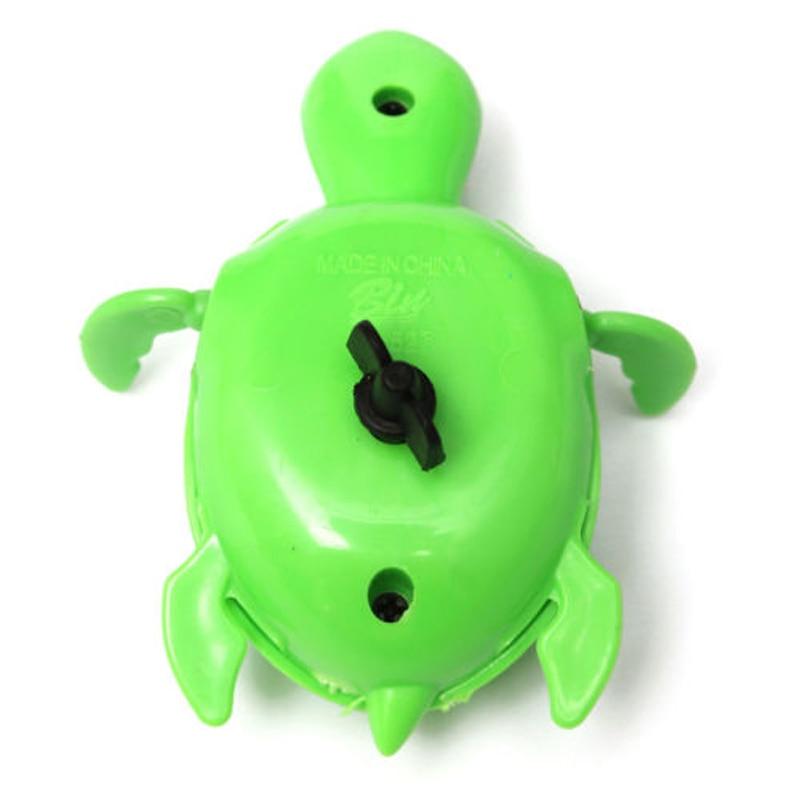 Плавающие Wind-up плавание черепаха лето игрушка для малышей детский бассейн Ванна