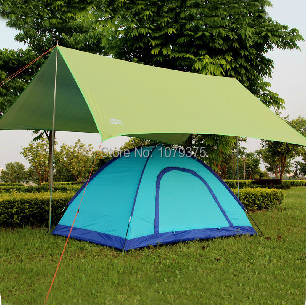 Free shipping c&ing tent beach tent sun shade sun shelter UV protection c&ing awning tent for & Free shipping camping tent beach tent sun shade sun shelter UV ...
