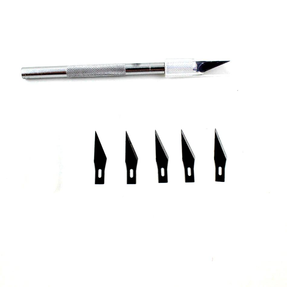 5 penge fafaragó szerszámok, penge kés fapapírvágó tollkések - Kézi szerszámok - Fénykép 2