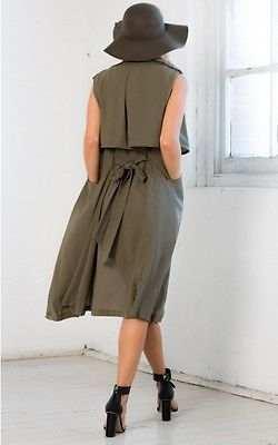 b2540001a10338 placeholder Ladies Women Cotton Coat Waterfall Long Jacket Sleeveless  Blazer Cardigan Cape Top Hot Sale
