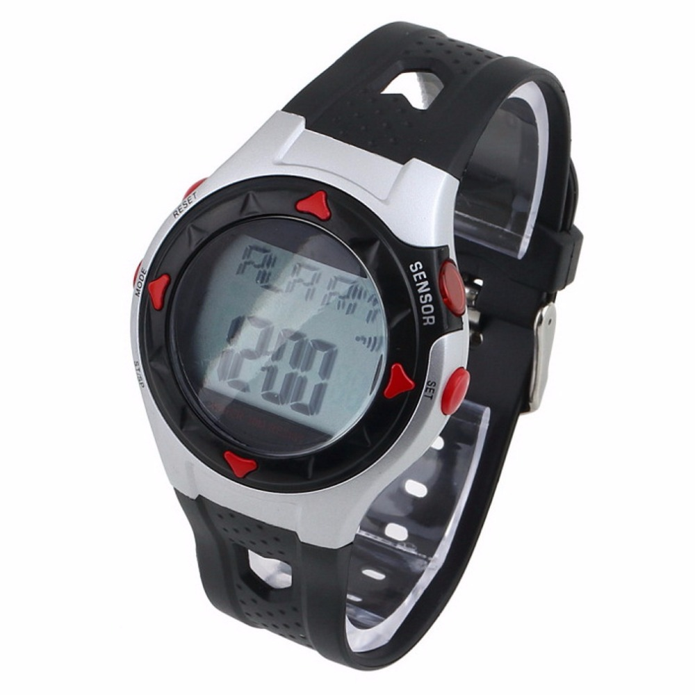 Pulse Digital Watch Monitor Wrist Watches Calorie Waterproof Pulse Heart Rate Counter Sport Watches Men Women Relogio 2018