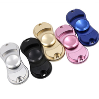 New 2017 Hand Fidget Spinner Aluminum Alloy Tri Spinner Hand Spinner Toy For Autism And