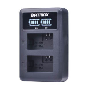 Batmax NP-FW50 NPFW50 USB Dual LED Display Camera Battery Charger for Sony A7 A7R