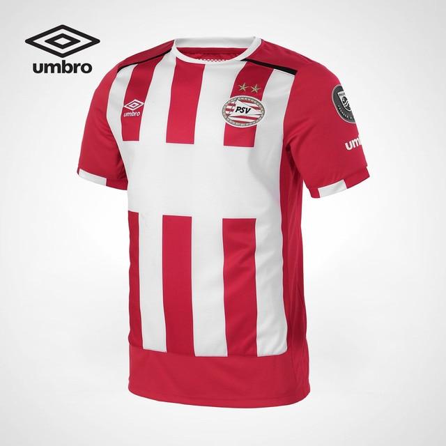 075ce35d6 Umbro Men Football Series Short Sleeved Shirts Sportswear Professional  track match football shirt red color T shirt UUB63401