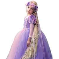 Brand Tangled Rapunzel Dress for Girls Party Princess Dress Fancy Kids Rapunzel Cosplay Birthday Clothes Kids Carnival Costume