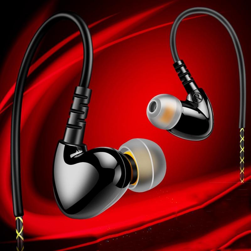 Sports Earphones REZ F1 Running Waterproof Headphone with Mic Headset Stereo Earbuds Bass Headset for Earpods