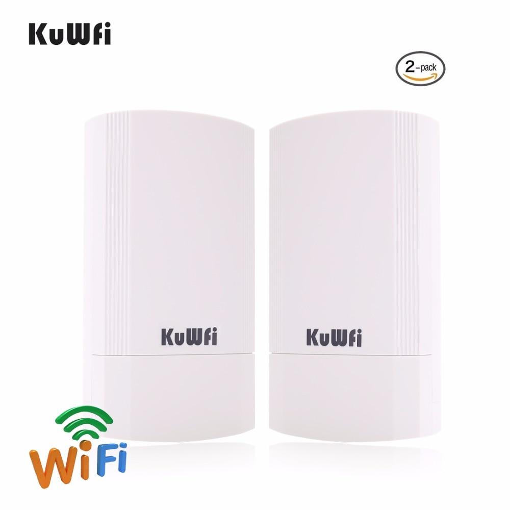 Pcs 450 Mbps 2 5G WDS Roteador Ponto de Acesso Wi-fi CPE Ao Ar Livre Sem Fio Wifi Ponte 1-3 KM extensor de alcance Repetidor Wi-fi Para A Câmera IP