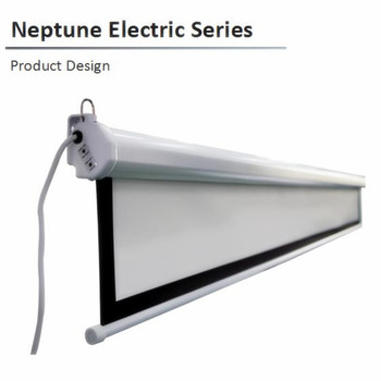 N1WB 16:10 Video Neptune Electric retractable projector projection screen 84 92 100inch 120inch , with matte white B