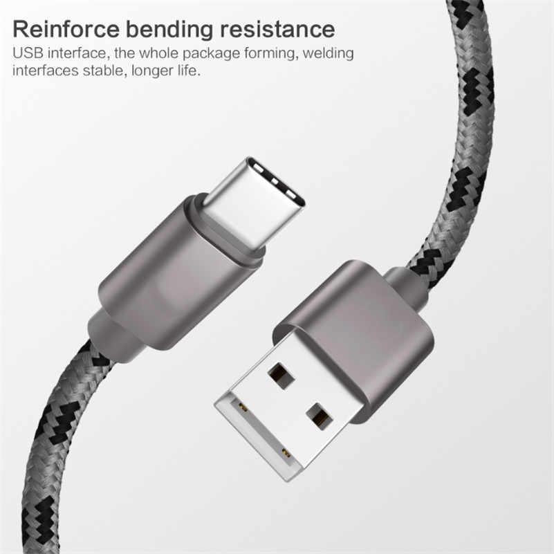 Тип usb C кабель USB type-C c функцией быстрой зарядки кабель для Xiaomi mi 8 SE 6 A2 6X A1 5X mi x 2 s Max мы собрали воедино 3 2 Тип-C 3,1 кабеля для передачи данных телефона Зарядное устройство для адаптера переменного тока