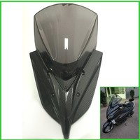 New Modified Motorcycle Windshield WindScreen Carbon fiber Wind Deflectors for Yamaha 2016 2017 2018 NMAX155 nmax125 150 nmax