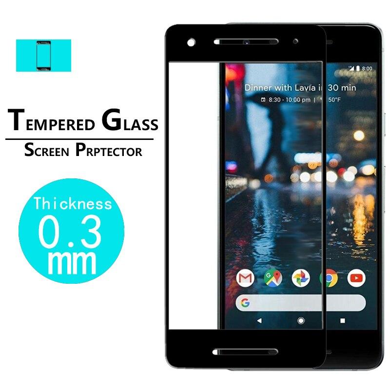 EKDME полноэкранное закаленное стекло для Google Pixel 2 XL, защитное стекло, пленка для Google Pixel 2, защита экрана, закаленное стекло Защитные стёкла и плёнки      АлиЭкспресс