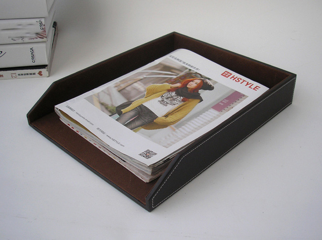 desk office file document paper. A4 Leather Wooden Office Desk File Document Storage Tray Box Case Filing Paper Documents Trays Organizer