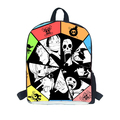 New 2015 School bag for boys naruto printing back pack kakashi double breasted bag packs school students book bags for children