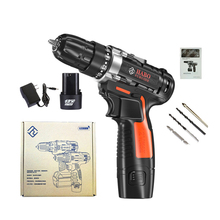 ED05 12V Cordless Drill Screwdriver Driver Hand Electric Drills power drill machine With Power Electrical Tools Rechargeable цена и фото