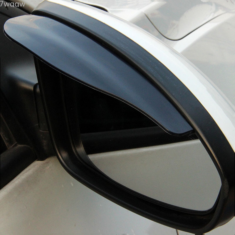 1Pair Car Back Mirror Eyebrow Rain Cover For Mercedes Benz W211 W221 W220 W163 W164 W203 W204 C E SLK GLK CLS GL