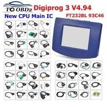 Heißer verkauf DHL Freies Digiprog 3 v4.94 OBD ST01 ST04 DIGIPROG III Kilometerzähler einstellen programmierer Digiprog3 Laufleistung Richtige Werkzeug