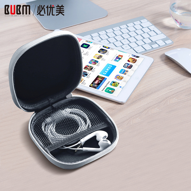 BUBM Cứng USB Flash Drive Trường Hợp, Du Lịch Mang Túi cho Ổ Đĩa Flash USB, Thẻ SD, tai nghe Cáp và Các Phụ Kiện Nhỏ Khác