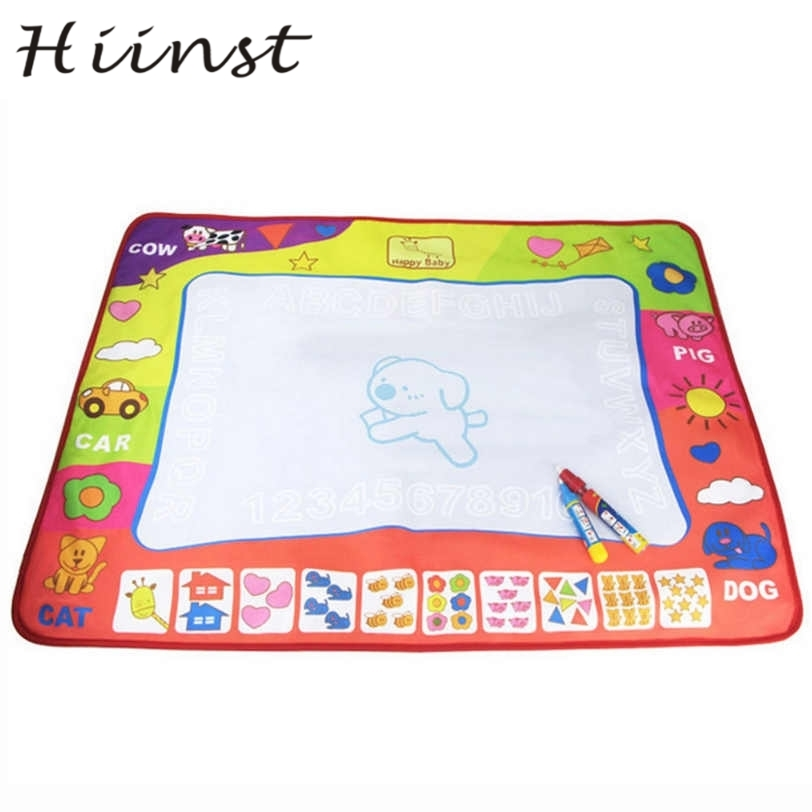 HIINST drop ship New Water Drawing Painting Writing Mat Board Magic Pen Doodle Gift 0*60cm S30 AUG1430