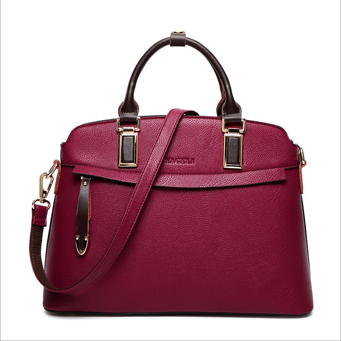 2017 European and American New Fashion Top Grade Women handbags Trendy Genuine Leather Shoulder bag european and american 2017 new lychee grain 100