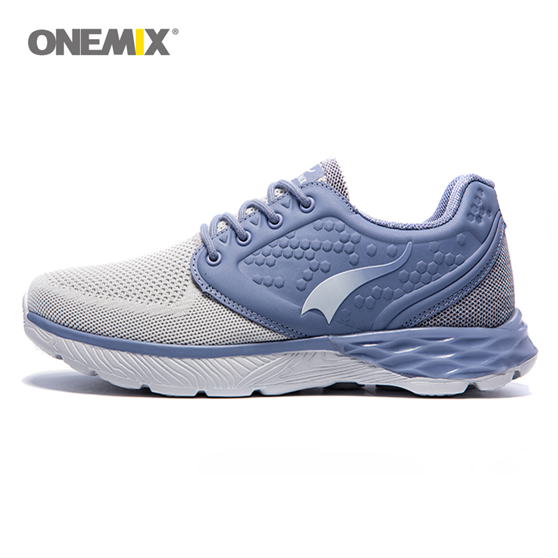 ONEMIX Running Shoes Men 2017 Summer Mesh Breathable and Light Running Shoes Outdoor Sports and Jogging Size EU39-45 1189 apple summer new arrival men s light mesh sports running shoes breathable fly knit leisure comfortable slip on sneakers ap9001