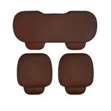 Universal PU Leather Car Seat Cushion Comfotable Soft Seat Covers Storage Bag Design Car Seat Mat Interior Accessories