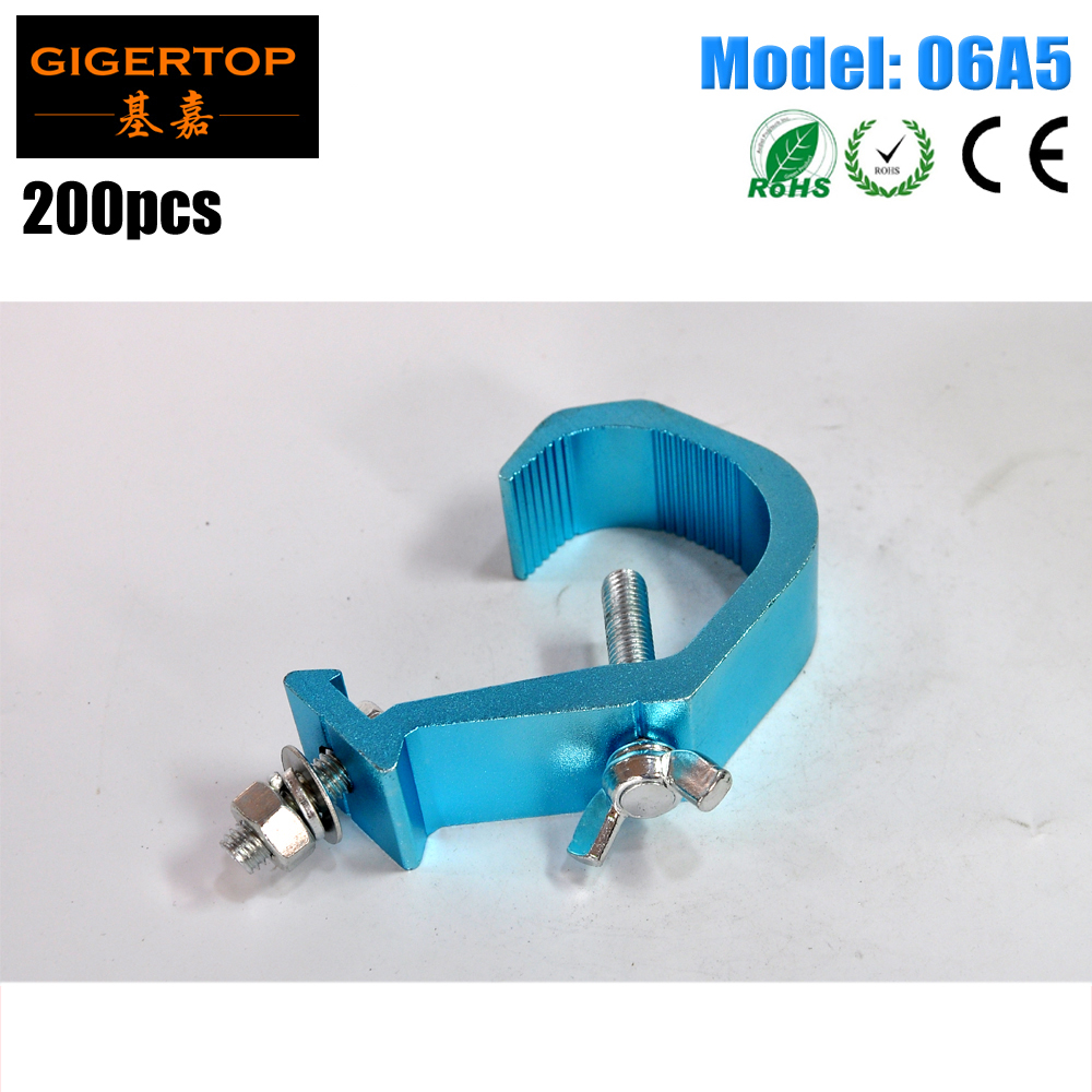 TIPTOP 06A5 200PCS TIPTOP Product OSLIM PEARL 40-60mm Version Of The Oslim Clamp Designed For Narrow Applications Blue Polish