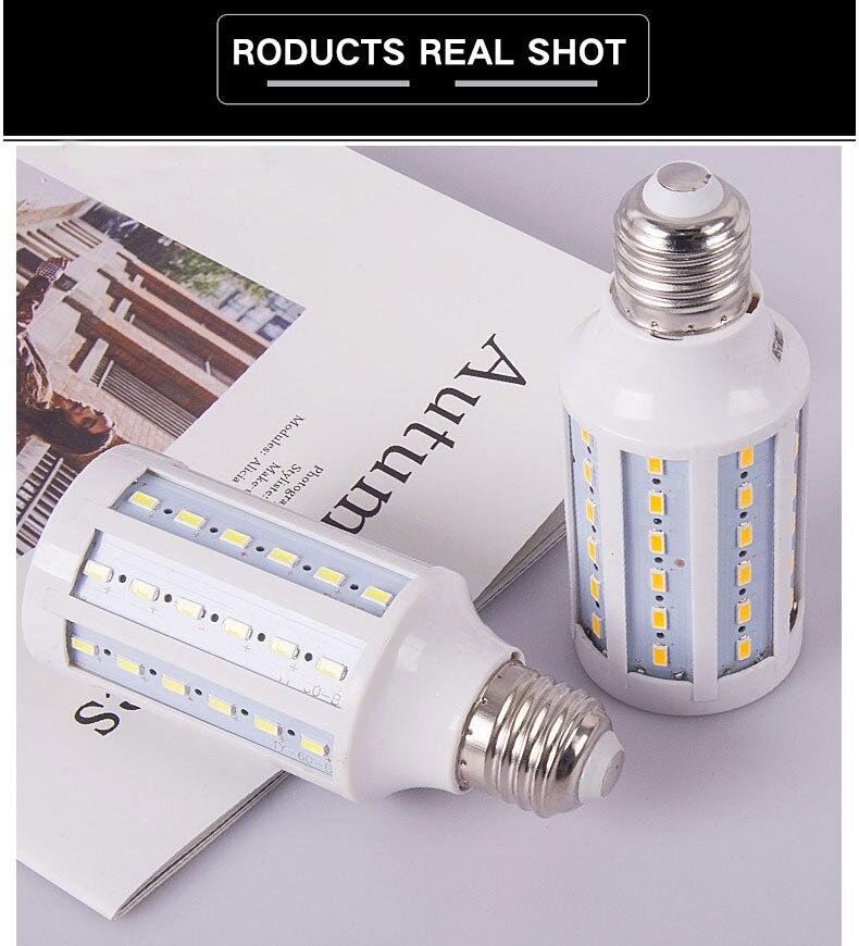 Le Jeune moderne.Maison-Ampoule LED 220V (E14 E27 B22 E40) 10 puissances au choix-Ampoule LED 220v. Communément appelé lampe épis de mais. 3 formats de douilles (E27 - E14 - B22 - E40) et et 10 puissances ( de 5w à 80w)