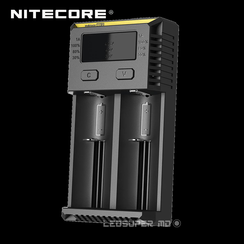 Original Portable Lighting Accessories Intelligent Nitecore New i2 18650 Battery Charger with Validation Code