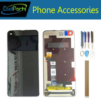 6.3 Inch For Motorola Moto One Vision XT 1970 XT 1970 LCD Display With Touch Screen Sensor Glass Digitizer With Tools Tape
