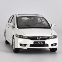 Original 1 18 Honda Civic 8 Generations High Simulation Collection Model Car Metal Car Free Shipping
