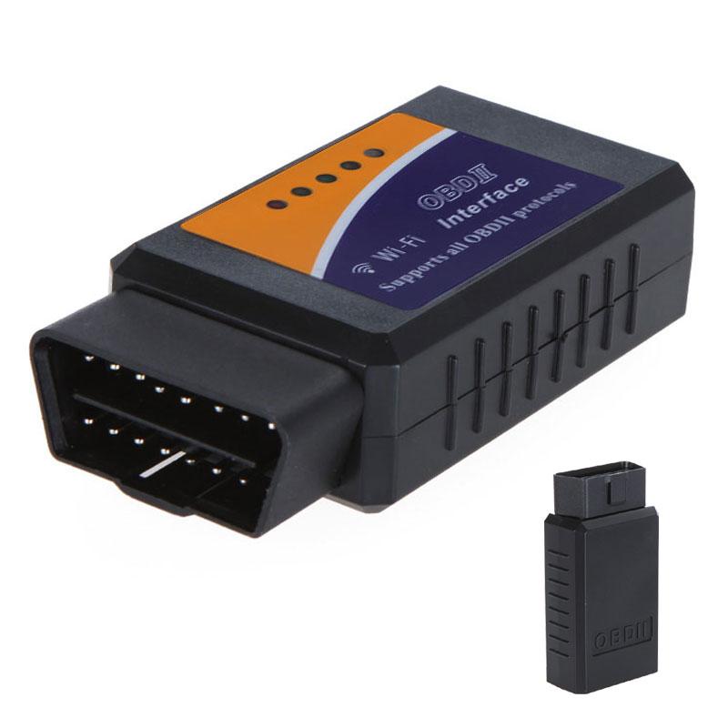 kkmoon wi fi elm 327 obd 2 obd ii car diagnostic tool interface scanner car tester for android. Black Bedroom Furniture Sets. Home Design Ideas