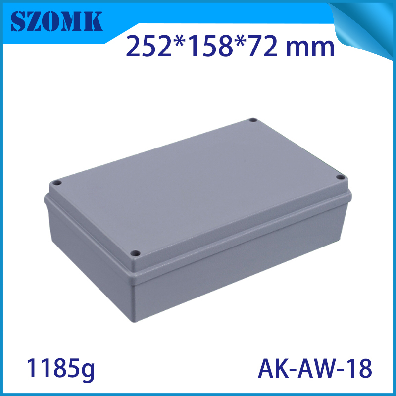 Aluminum Exterior Electrical Enclosure Outdoor Waterproof Use for Electronics PCB Box Connection Junction Box Project Case aluminum exterior electrical enclosure outdoor waterproof use for electronics pcb box connection junction box project case