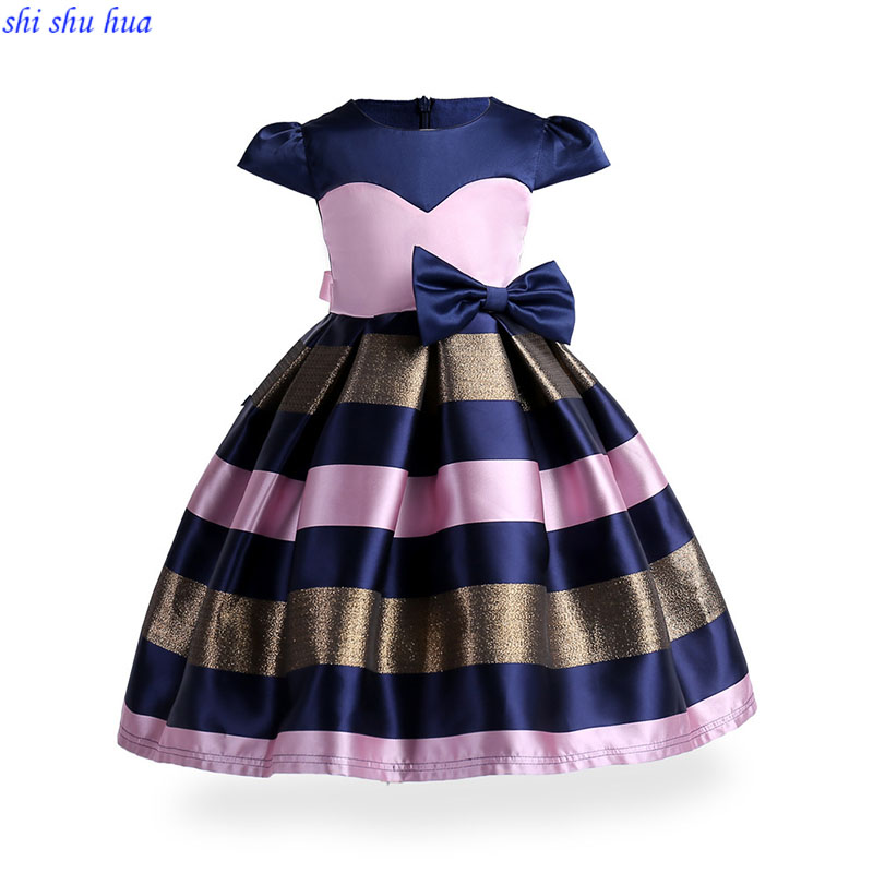 Childrens clothing Girls Dress Baby birthday party Prom Costumes 3-10 year old girl fashion Dress High quality 2018 Hot sale