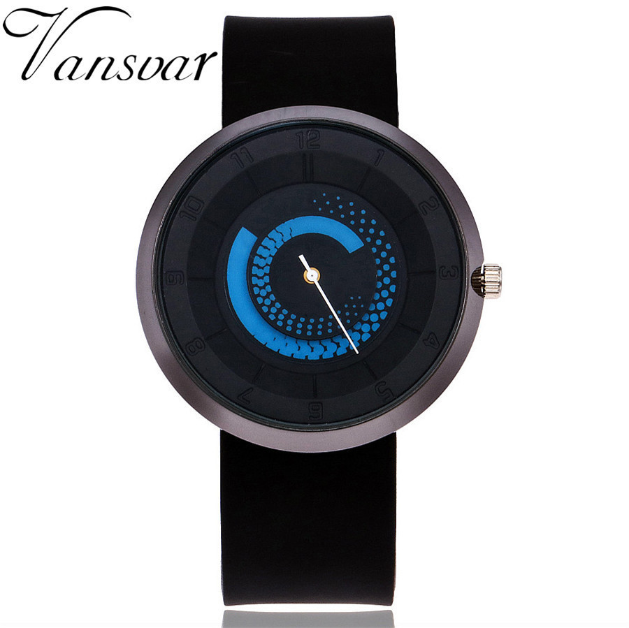 2017 New Unisex Creative Turntable Watches Women Casual Watches Silicone Band Sports Watch Men Quartz Clock Hours Relogios Gift stylish unisex quartz watches men sports watches denim fabric women dress watch news paper wristwatch design hours