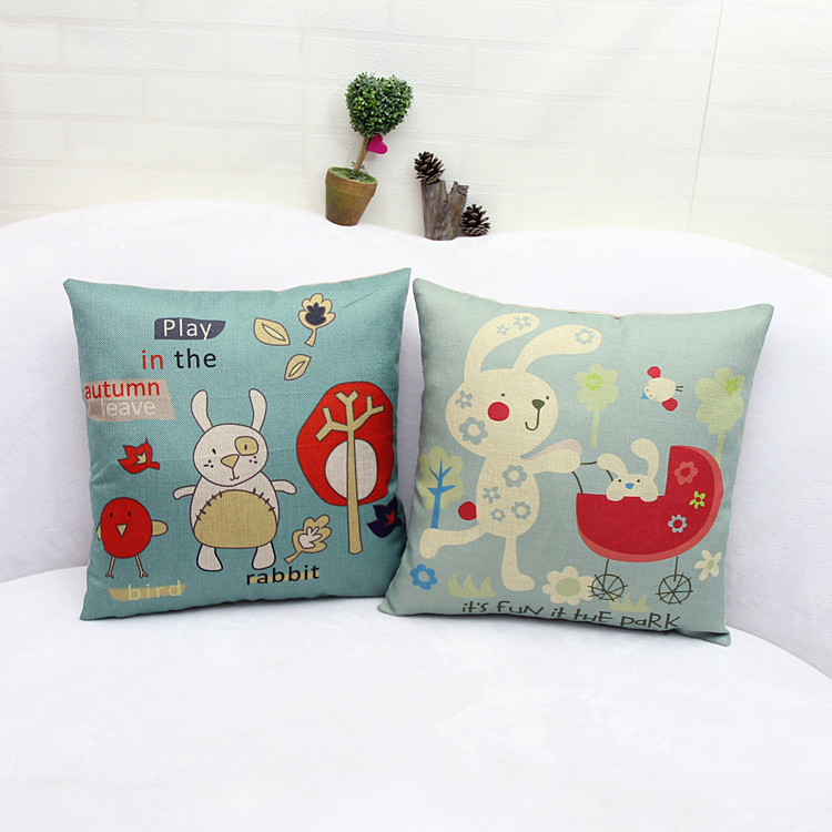 Children's Day Gift Seat Cushion Without Core Animal Decorative Home Fascinating Children's Decorative Pillows