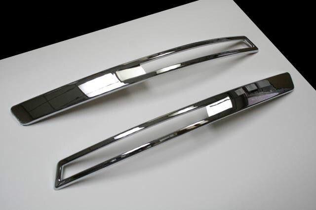 Plaque de protection de clignotant de pare-chocs avant chromé pour VW Passat B6