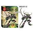 XSZ 611-3 Bioquímica Guerrero BionicleMask de Luz Umarak Hunter Ladrillos Bloque de Construcción Mejor Juguetes Bionicle FW301