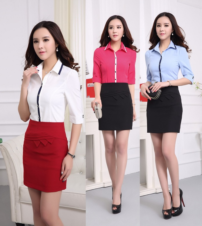 Aliexpress.com : Buy New 2015 Summer Female Office Suits Formal ...