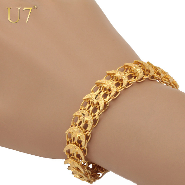 large by star plated women dainty jewellery for adruzy of gift ladies usa with her bracelets jewelry made bracelet gold friend products