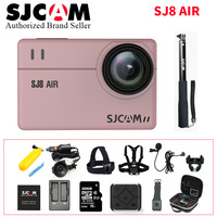STOCK! SJCAM SJ8 Air Action Camera 1296P 4K 30fps / 60fps Sports DV Remote Control Helmet Camera (Full Set Box)