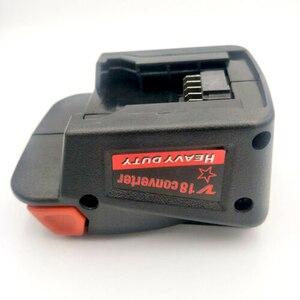 Image 1 - Conversor de adaptador de carga para milwaukee m18 18 v li ion célula para v18 18 v pilha de lítio carregador de telefone sem fio ferramenta de carga usb