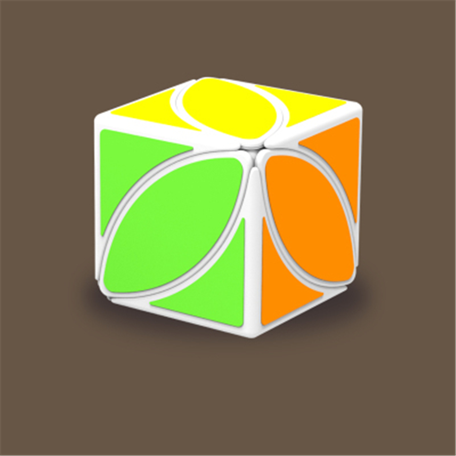 Skewb Cubo Magico Profissional Hand Spinner Educational Toys Neo Leaf Children Smooth Cube Puzzle 60b1137